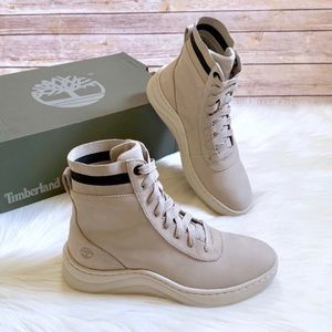 "Timberland Light Taupe Ruby Ann 6"" Sneaker Boots"